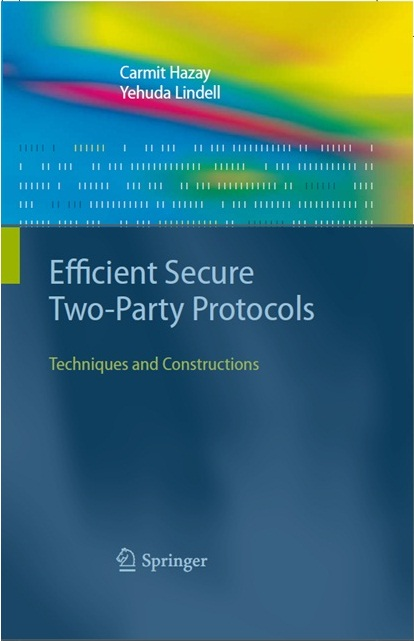 Book Jacket for Efficient Secure Two-Party Protocols