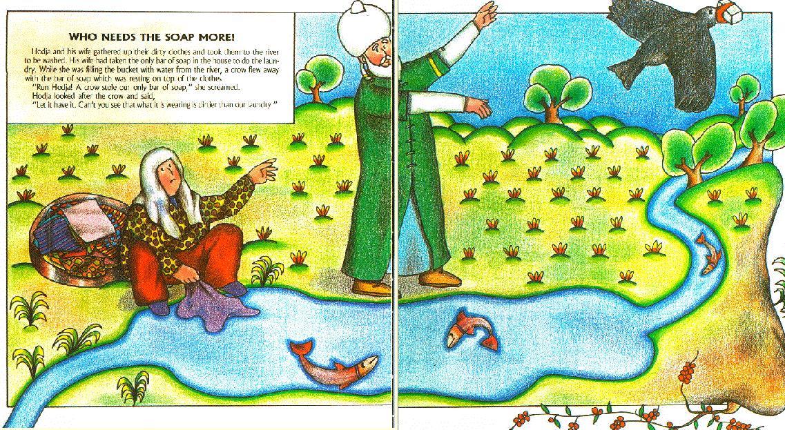 resimli öykü ingilizce türkçe