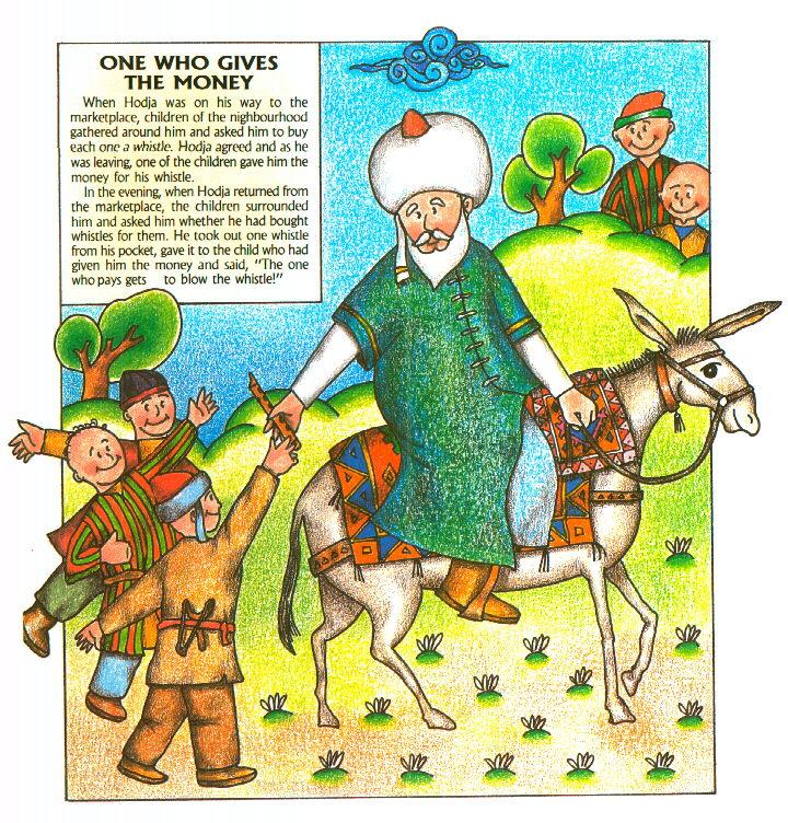 Nasreddin hoca fıkralarının ingilizcesi resimli